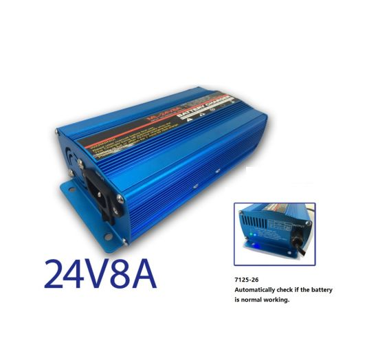 24V 8A Lead-Acid Battery Charger for Motorcycle, 2-Wheelers & 3 Wheelers pictures & photos
