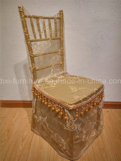 Wedding Aluminum Chiavari Chair with Mobile Seat Cushion pictures & photos