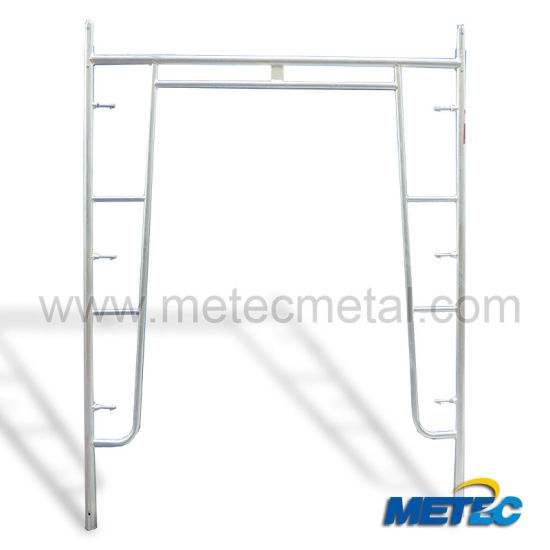 Walk Through Frame System Scaffold Heavy Duty for Construction Equipment