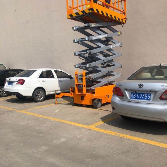 12m 14m 16m Mobile Scissor Work Construction Platform Lift