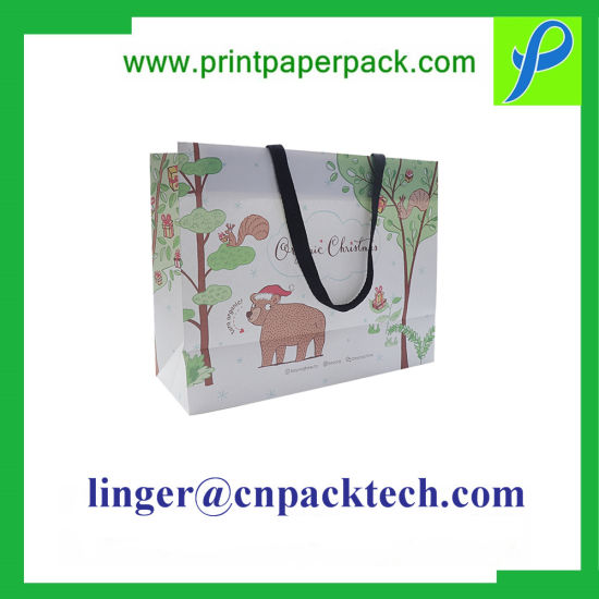 High End Bespoke Fashion Shopping Apparel Shoes Gifts Packing Paper Bag