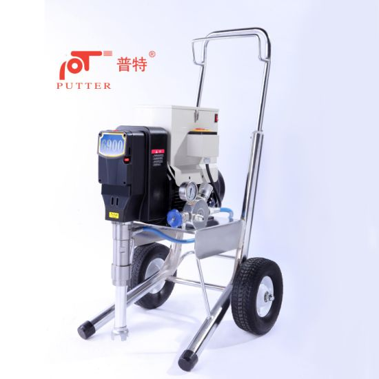 Industrial Vfd Motot Paint Sprayer For Sale Pt6900
