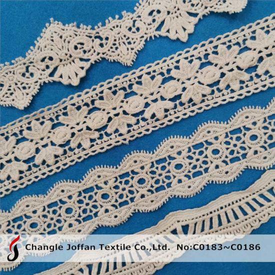 Lace Material Trimming Lace Crochet Chemical Cotton Lace (C0183)