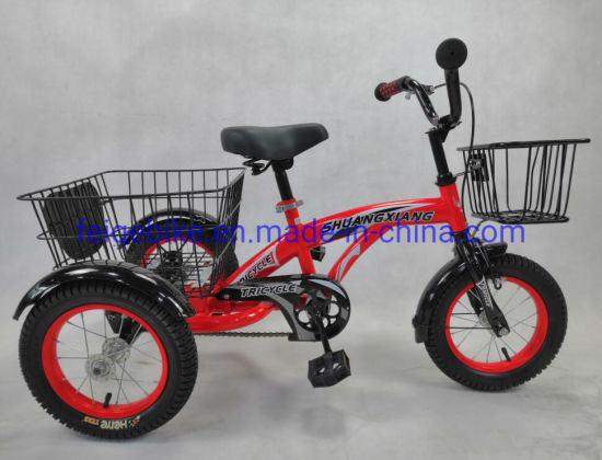 "12""*2.40 Steel Trike for Boy (PDTK-A115) pictures & photos"