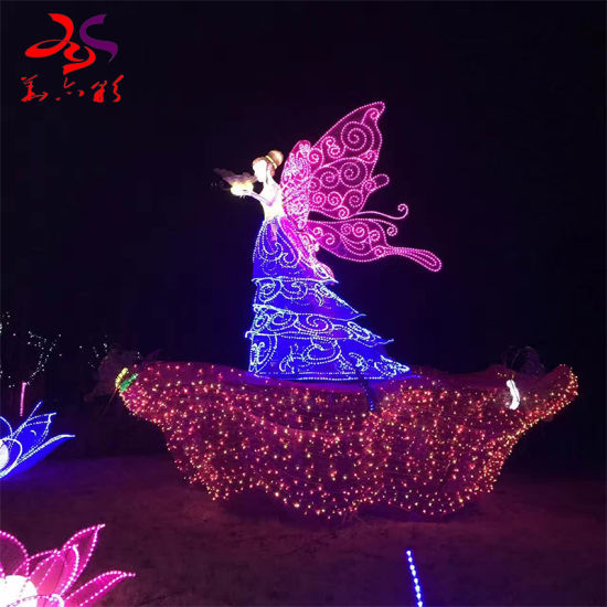 2021 New Christmas Outdoor Lights China 2021 New Products Outdoor Christmas Decoration Lighting 3d Angel Led Motif Lights Manufacturer China Angel Motifs And 3d Motif Light Price