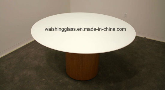 Back Painted Glass Table Tops