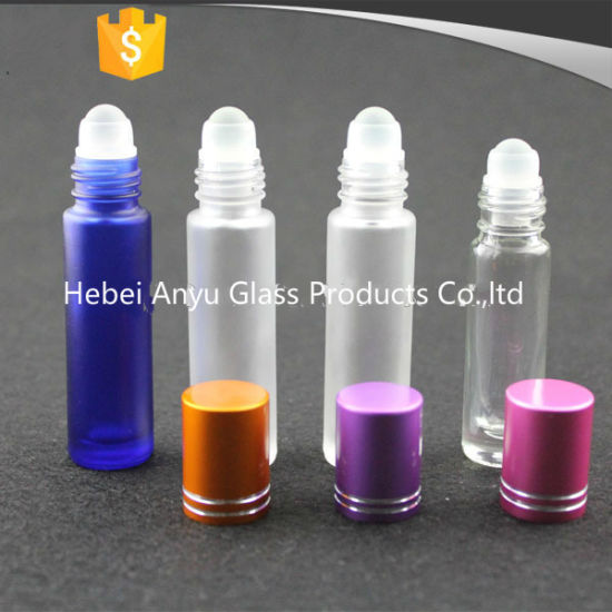 4ml 6ml 8ml 10ml Roll on Glass Bottles for Perfume and Essential Oil pictures & photos