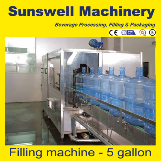 Hot Sale & Quality for 5 Gallon Distilled Water Filling Machine/Plant/Equipment pictures & photos