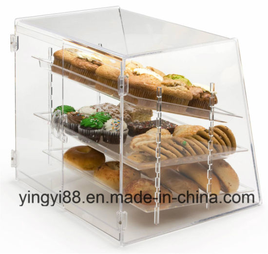 Custom Acrylic Bread Box with Door (YYB-078) pictures & photos