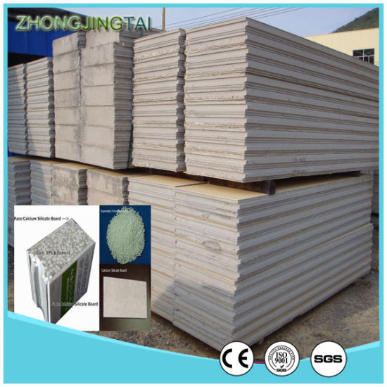 Lightweight Waterproof Firproof Insulation EPS Cement Sandwich Panel for Wall pictures & photos
