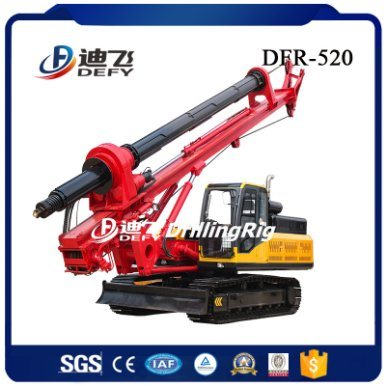 Hydraulic Rotary Bore Pile Driving Machinery for Foundation Crawler Type pictures & photos