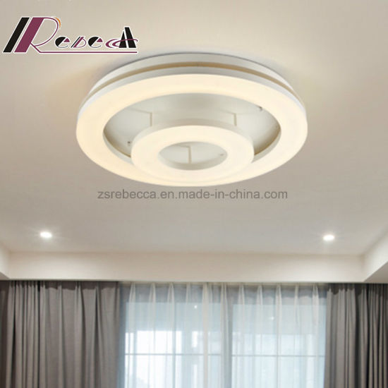 Modern Simple LED Round Warm Ceiling Lamp for Living Room pictures & photos
