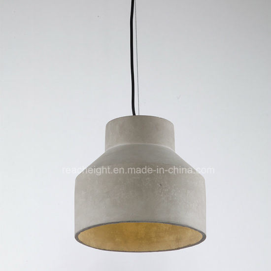 Nordic Design Cement Cafe Bar Hanging Pendant Light pictures & photos