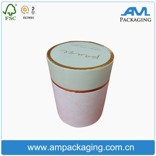 Luxury Gold Flower Shape Round Box Tube Packaging Boxes for Beauty pictures & photos