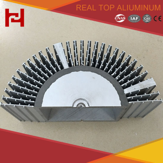 Aluminum Electrophoresis Heat Sink with Custom High Quality Profile pictures & photos