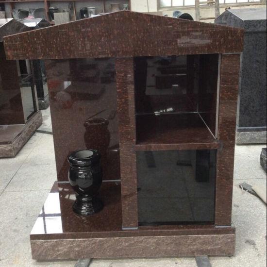 Cat's Eye Granite 2 Niche Vertical Columbarium