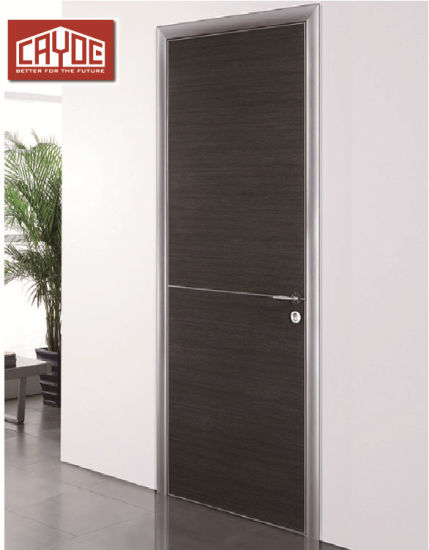 China Waterproof Bathroom Aluminum Clad Wood Doors Interior China