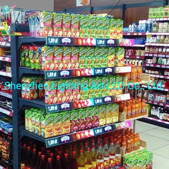 P1.875 Digital HD Smart Tags Shelf LED Display Screen for Supermarket Retail Store