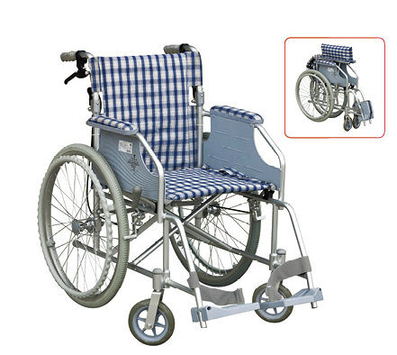 Medical Equipment Functional Aluminum Wheelchair 6-22d pictures & photos