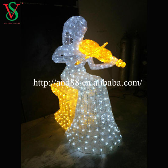 Christmas Decoration Lights with LED Angel pictures & photos