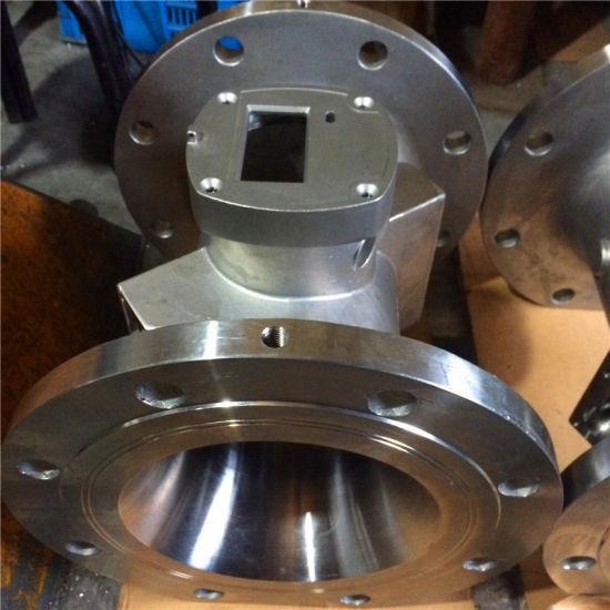 Stainless Steel CNC Machined Parts with ISO 9001 Certificate