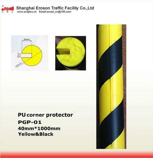 for City Road Yellow/ Black PU Corner Protector Damp pictures & photos