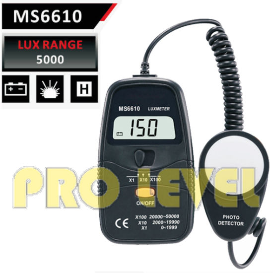 Hot Sale Digital Light Meter (MS6610) pictures & photos