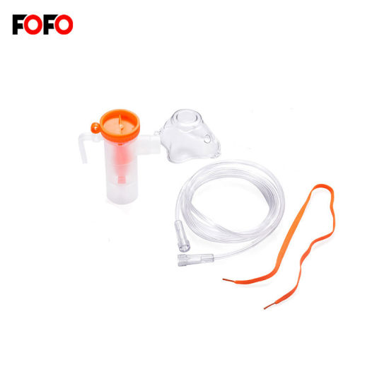 T Piece Nebulizer Kit with Nose and Mouth Pieces