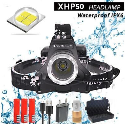 New Arrive Z30+2810 Original CREE Xhp50 32W 4292lm Powerful LED Headlamp Headlight Head Lamp pictures & photos