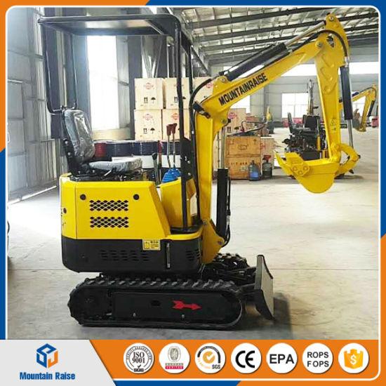 Gemeinsame Cheap Mini Excavator 800kg China Mini Bagger for Greenhouse @AY_87