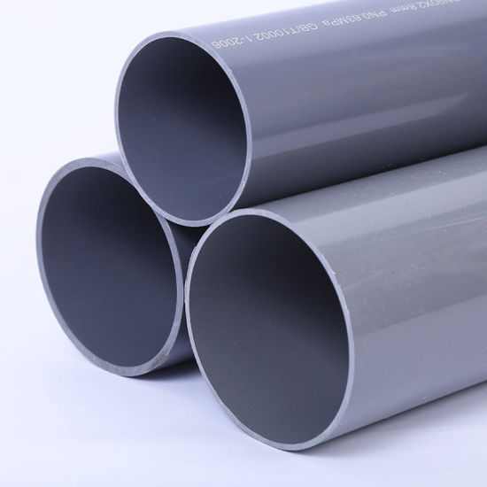 63mm Pn10 Clear Home Depot PVC Plumbing Pipe and Fittings Manufacturer Suppliers