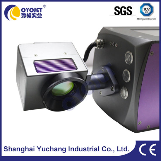 Laser Machine for Coding Date on Plastic Pipe Fitting pictures & photos