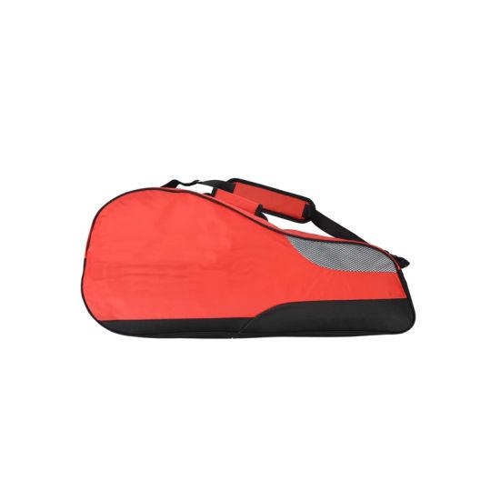 Traveler Premium Padded Tennis Bag with Shoe Compartment for Men Women, 2 Tennis Racquet Bag with Adjustable Shoulder Strap, Handle, Front Zipper Pocket, Built