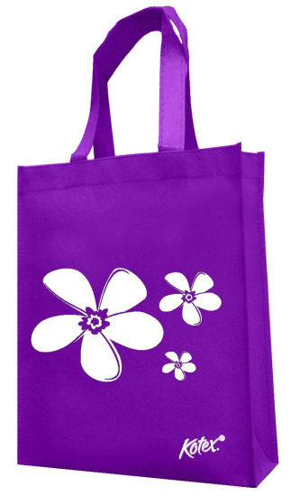 Promotional Logo Printed Non-Woven Shopping Bags (FLN-9002) pictures & photos