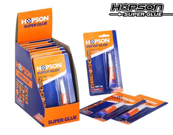 Hopson Factory Wholesale Aluminum Tube Quick Bond Cyanoacrylate Super Glue
