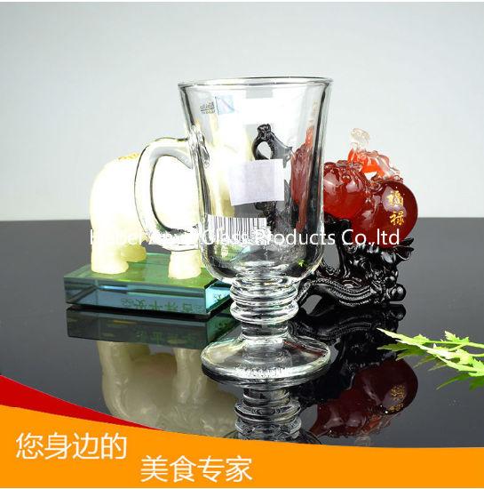Glass Beer Cup Mini Beer Mug Coffee Mug Glass Tea Cup with Handle