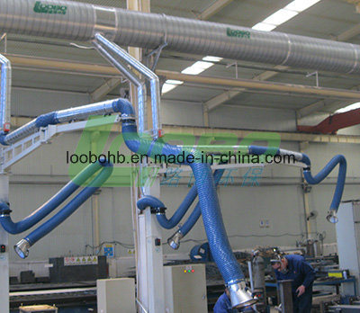 Loobo Factory Price Welding Fume Extractin Arms Fume Extractor Hood China Welding Fume Extractor Arms Airflow Adjustment Damper Fume Arms Made In China Com