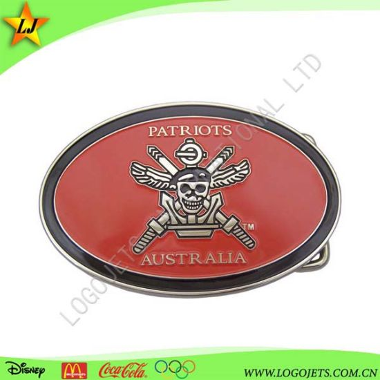 3D Metal Oval Shape Bags Belt Buckles for Clothing Accessories