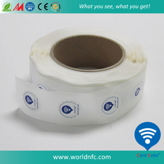 Roll Packing Cheap Price Programmable RFID NFC label with Printing