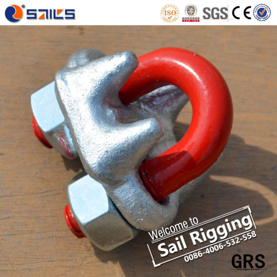 Us Type Drop Forged Wire Rope Clamp Sr-J pictures & photos