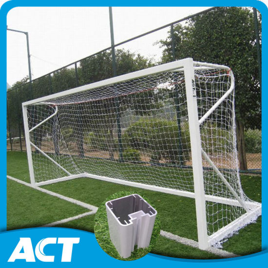 3a690254e Fifa Standard Aluminum Football Goal Posts for Training pictures & photos