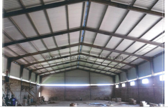 China Steel Frame Construction Zambia steel structure warehouse ...