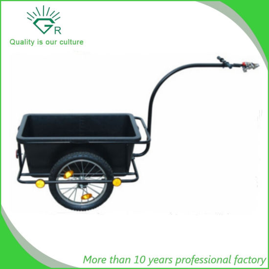 China Plastic Tray Steel Frame Bicycle Cargo Trailer Shopping ...