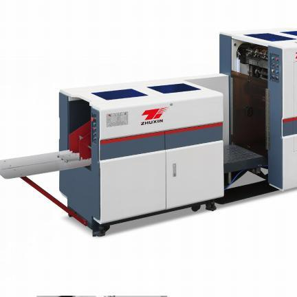 Cy-180 Square Paper Bag Making Machine Successfully Developed The Square Bottom