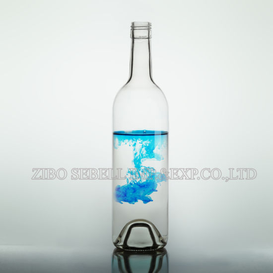 71eb56a3d9c2 China 750ml Bvs Flint/Clear Bordeaux Bottle for White Wine (07-wine ...