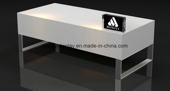 Fashion Display Table with PU Painting, Floor Stand