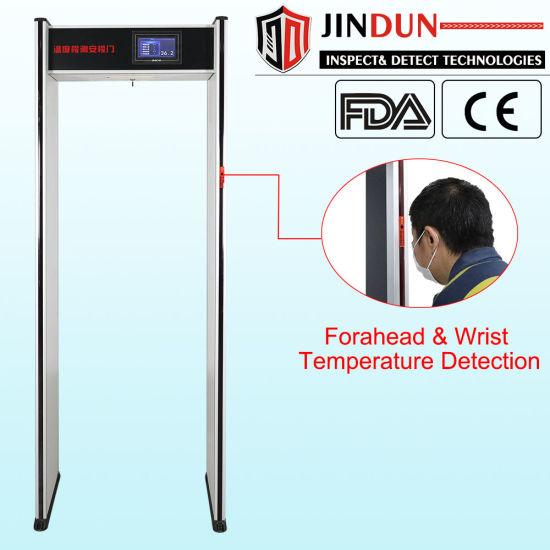 Digital Non-Contact Walk Through Body Infrared Auto Scanner with Temperature Sensor