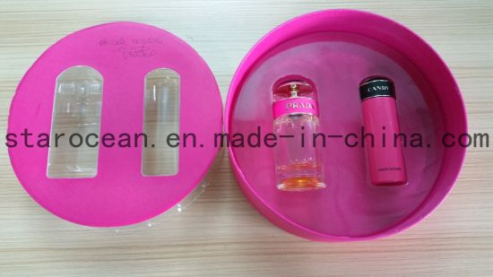 Customized Clear PVC Cosmetic Package Gift Box for Beauty Product pictures & photos
