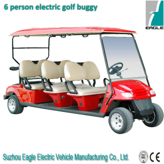 Electric Golf Car (EG2069K, 6-PERSON) pictures & photos