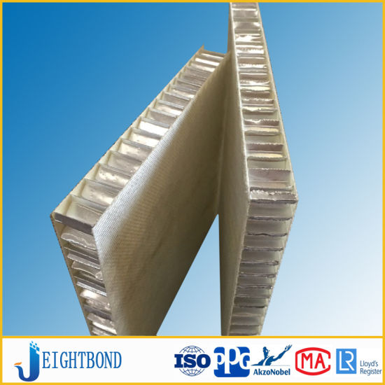 FRP Fiberglass Honeycomb Panel for Composite of Stone Sheet for Construction Materials pictures & photos
